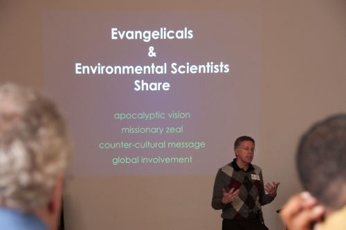Ken Wilson at the University of Michigan Friendship Collaborative workshop